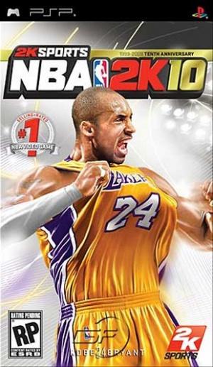 NBA 2K10 sur PSP
