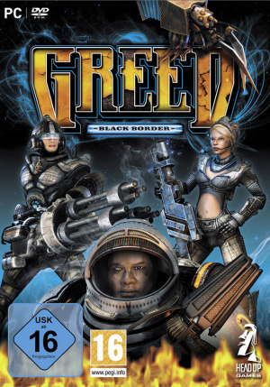 GREED : Black Border sur PC