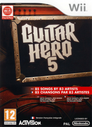 Guitar Hero 5 sur Wii