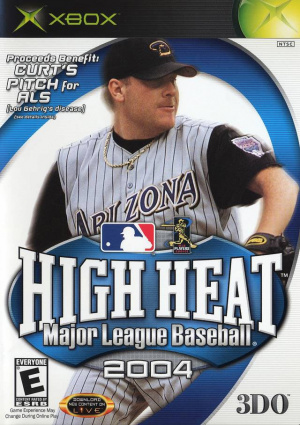 High Heat Major League Baseball 2004 sur Xbox
