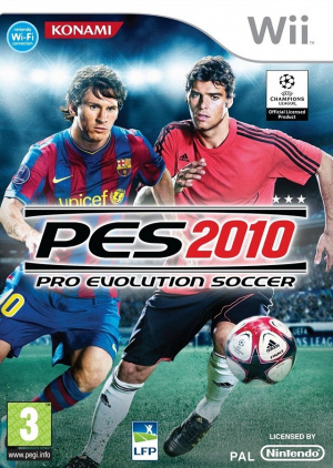 Pro Evolution Soccer 2010 sur Wii