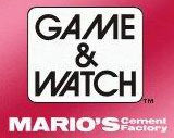 Game & Watch : Mario's Cement Factory sur DS