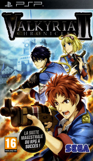 Valkyria Chronicles II sur PSP