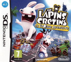 The Lapins Crétins : La Grosse Aventure (DS)