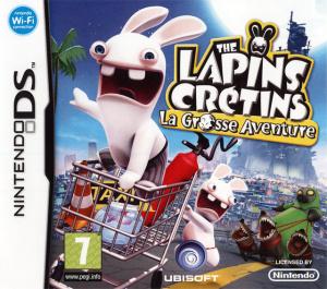 The Lapins Crétins : La Grosse Aventure sur DS
