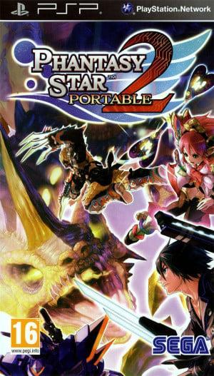 Phantasy Star Portable 2 sur PSP