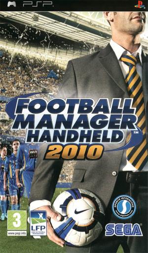 Football Manager Handheld 2010 sur PSP