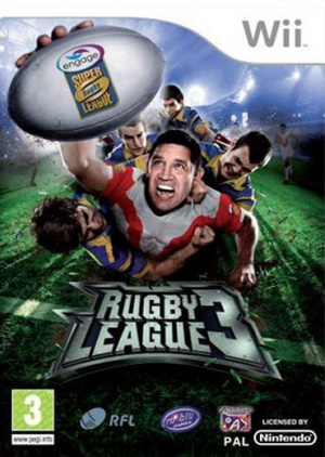 Rugby League 3 sur Wii