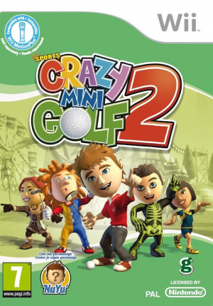Kidz Sports : Crazy Mini Golf 2 sur Wii