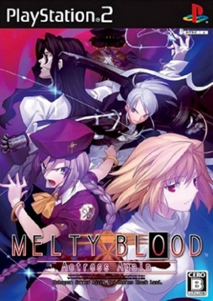 Melty Blood : Actress Again sur PS2