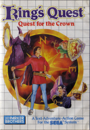 King's Quest : Quest for the Crown sur MS
