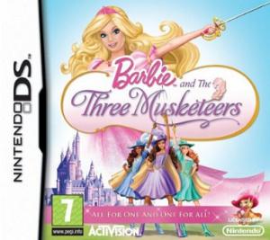 Barbie et les 3 Mousquetaires sur DS