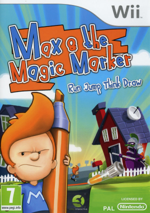 Max & the Magic Marker sur Wii