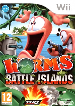 Worms : Battle Islands sur Wii
