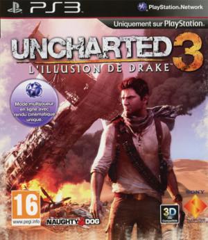 Uncharted 3 : des images et une jaquette