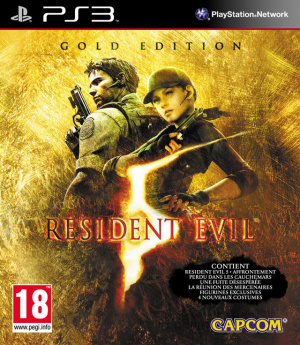 Resident Evil 5 : Gold Edition sur PS3