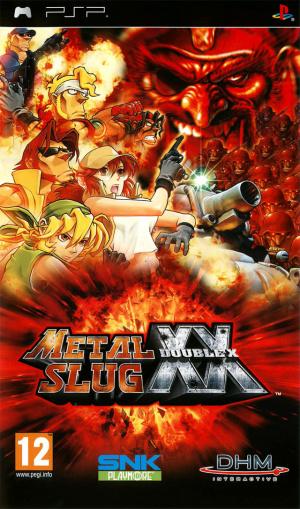 Metal Slug XX sur PSP