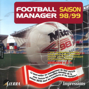 Football Manager 98-99 sur PC