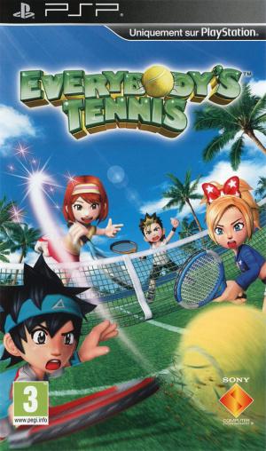 Everybody's Tennis sur PSP