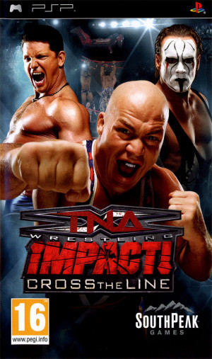 TNA iMPACT! : Cross the Line sur PSP