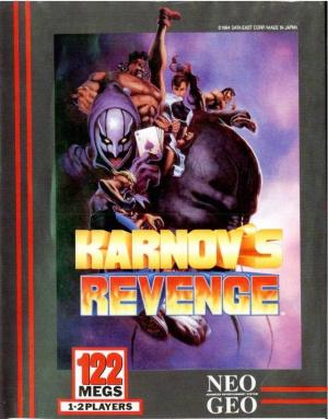 Karnov's Revenge sur NEO