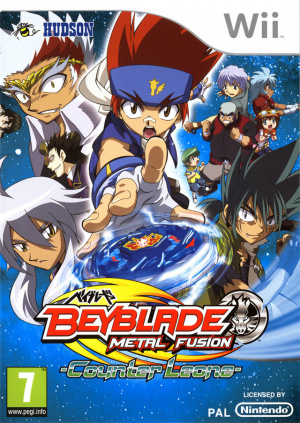 Beyblade : Metal Fusion sur Wii