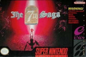 The 7th Saga sur SNES