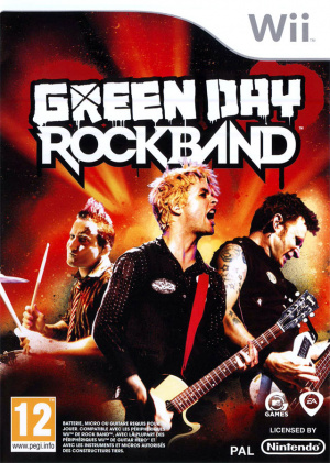 Green Day : Rock Band sur Wii