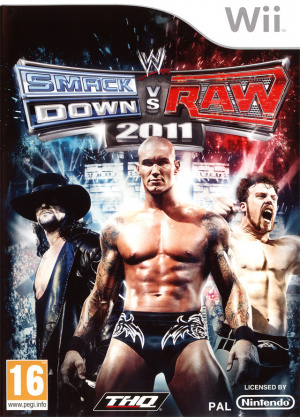 WWE Smackdown vs Raw 2011 sur Wii