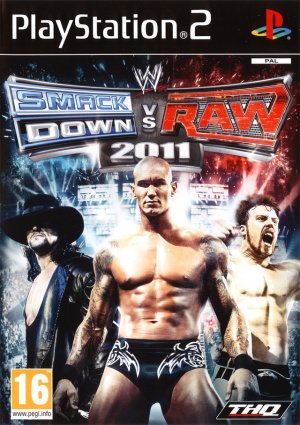 WWE Smackdown vs Raw 2011 sur PS2