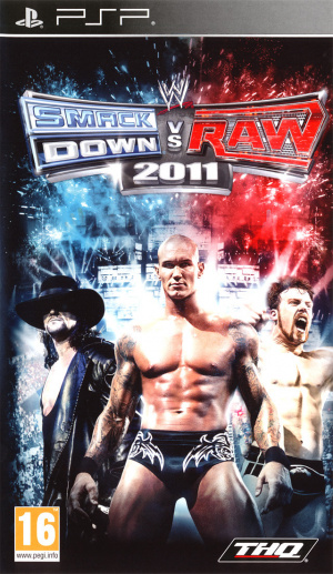 WWE Smackdown vs Raw 2011 sur PSP