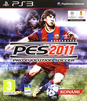 Pro Evolution Soccer 2011 sur PS3