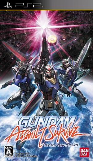 Gundam Assault Survive sur PSP