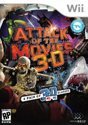 Attack of the Movies 3D sur Wii