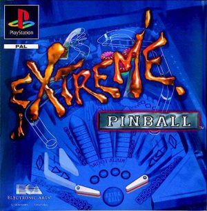 Extreme Pinball sur PS1