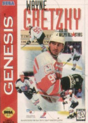 Wayne Gretzky and the NHLPA All-Stars sur MD