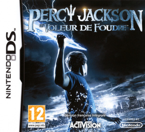 Percy Jackson : Le Voleur de Foudre sur DS