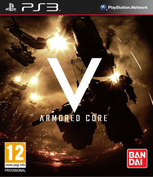 Armored Core V sur PS3