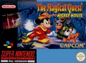 The Magical Quest Starring Mickey Mouse sur SNES