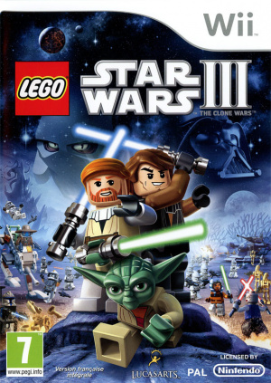 LEGO Star Wars III : The Clone Wars sur Wii