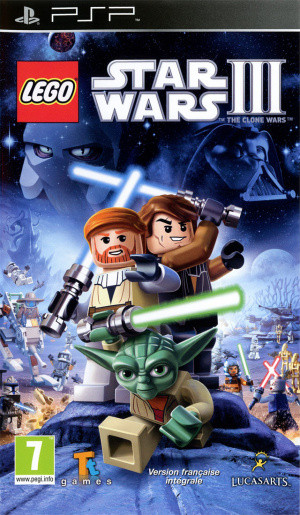 LEGO Star Wars III : The Clone Wars sur PSP