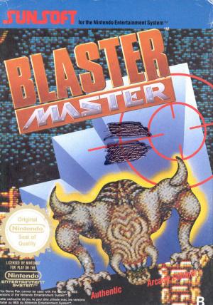 Blaster Master sur Nes