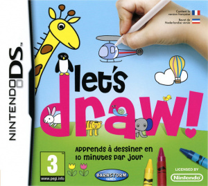Let's Draw sur DS