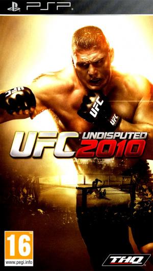 UFC 2010 Undisputed sur PSP