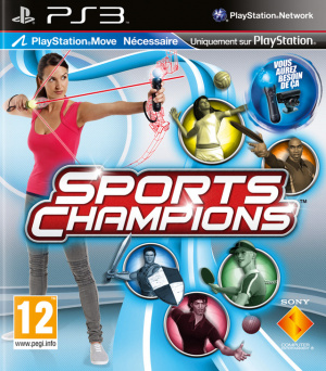 Sports Champions sur PS3