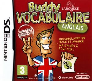 Buddy Vocabulaire Anglais sur DS