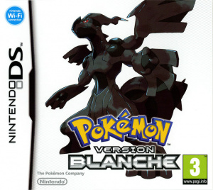 Pokémon Version Blanche sur DS