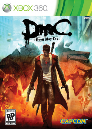 DmC Devil May Cry sur 360