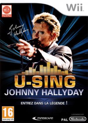 U-Sing Johnny Hallyday sur Wii