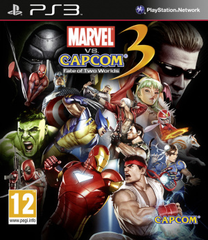 Marvel vs. Capcom 3 : Fate of Two Worlds sur PS3